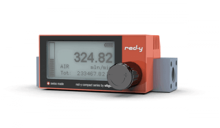 red-y compact series digital massflow meters device generation II