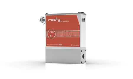 Thermischer Massedurchflussmesser mit IP67/NEMA 6 Schutz red-y industrial meter