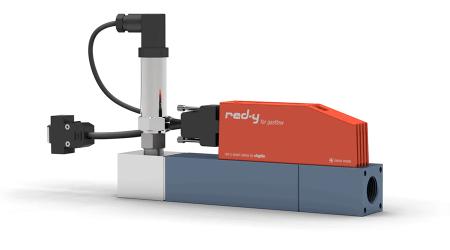 Digitaler Druckregler für Gase mit integrierter Durchflussmessung red-y smart pressure controller