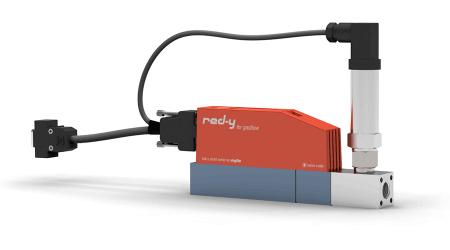 Digitaler Druckregler für Gase mit integrierter Durchflussmessung red-y smart pressure controller GSP