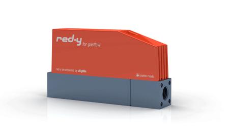 """Thermischer Massedurchflussregler für Gase red-y smart controller GSC 1/4"""" Alu"""
