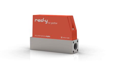 """Thermische Massedurchflussmesser für Gase red-y smart meter GSM 1/4"""" Inox"""