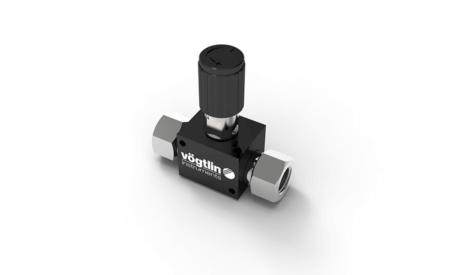 Präzisions-Nadelventile M-Flow für Gase – Standard Drehknopf