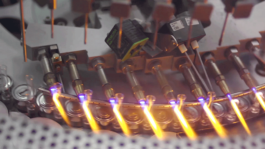 Präzise Flammensteuerung mit hochpräzisen dgitalen Massedurchflussreglern (MFC) für Gase