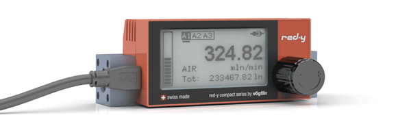 digital mass flow meters with alarm functionality