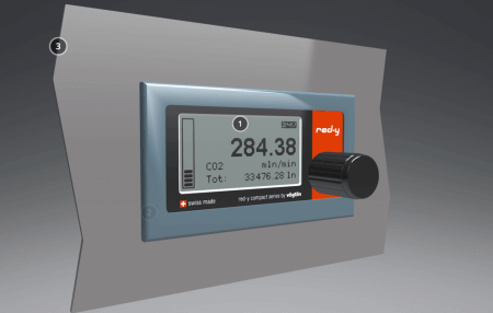 Experience our mass flow meters and controllers in 3D