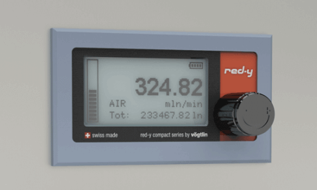 Digital Mass Flow Meter with Panel Mounting Kit
