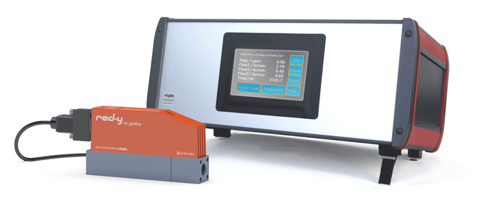 PCU-10 Display and Control Device for Thermal Mass Flow Meters and Controllers