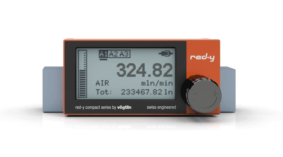 Digital Mass Flow Meter with alarm function module