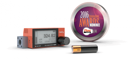 Vögtlin's digital mass flow meters nominated for Innovation Award 2016