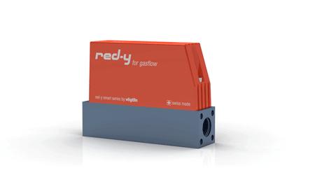 """Thermischer Massedurchflussmesser red-y smart GSM 1/4"""" Alu"""