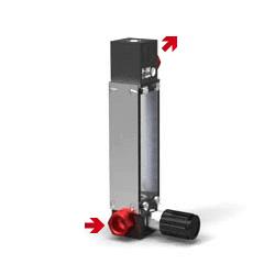 Schwebekörper Durchflussmesser V-100 L-Armatur
