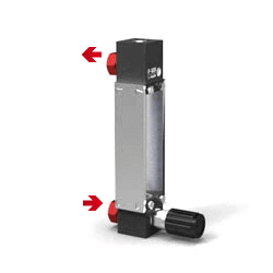 Variable Area Flowmeter V-100 Setup S