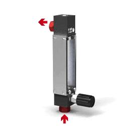Variable Area Flowmeter V-100 Setup T