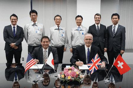 Zusammenarbeit mit HORIBA STEC in Japan