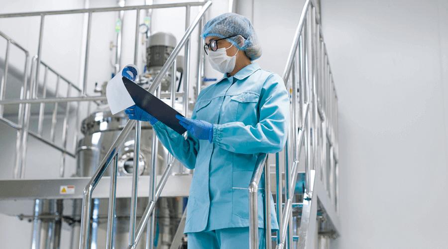 Reinraum Produktion in der pharmazeutischen Industrie