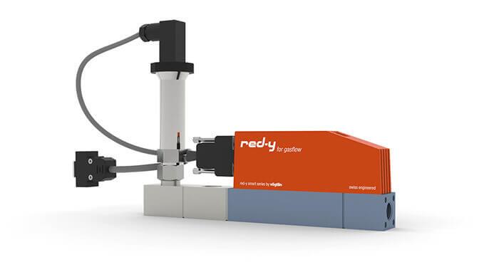 Digitale Druckregler für Gase mit integrierter Durchflussmessung