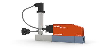 Elektronische Druckregler für Gase mit integrierter Durchflussmessung