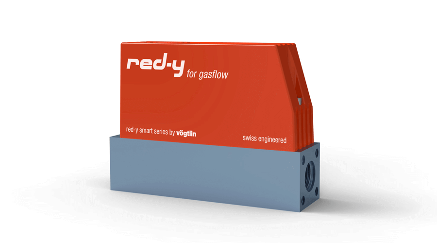 Digitale Massedurchflussmesser von Vögtlin für die Überprüfung von Luftkeimsammlern