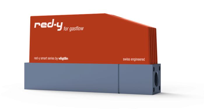 Thermische Massedurchflussmesser und Massedurchflussregler für Gase red-y smart series