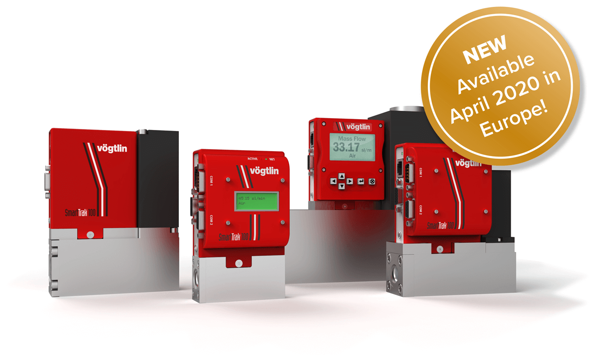 Available April 2020: Premium Capillary Mass Flow Controllers and Mass Flow Meters SmartTrak100