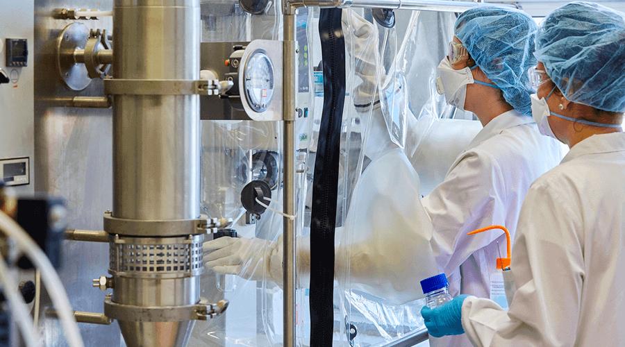 Sprühtrockner Anwendung in der Pharmaindustrie