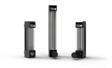 Schwebekörper Durchflussmesser für Gase (VA-Meter) Q-Flow