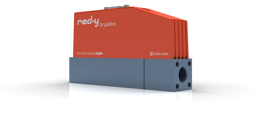 Thermal Mass Flow Controllers for Gases red-y smart series