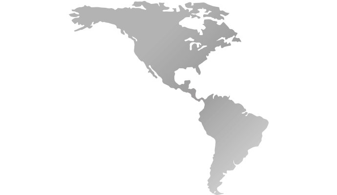 Vögtlin Sales Service Partner In North South America - North and south america map