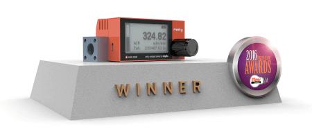 Die digitalen Durchflussmesser sind die Gewinner des Flow Control Innovation Award 2016