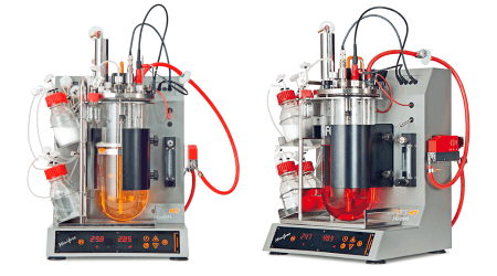 Vögtlin mass flow controllers in Bio reactors