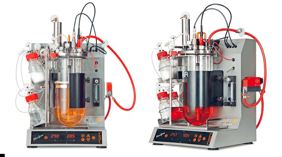 Bioreactor Minifors (courtesy of Infors AG)
